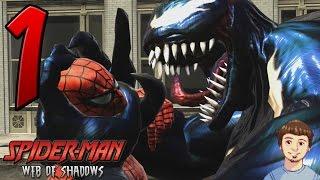 Spider-Man Web of Shadows Gameplay Walkthrough - PART 1 - Best Spider Man Game Ever?