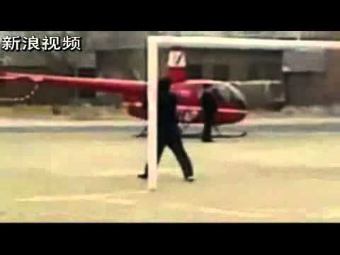 Tận mắt xem đại gia lái trực thăng đón nữ sinh đi học về