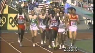 1988 Olympics - Men's 5000 Meter Run Part 1