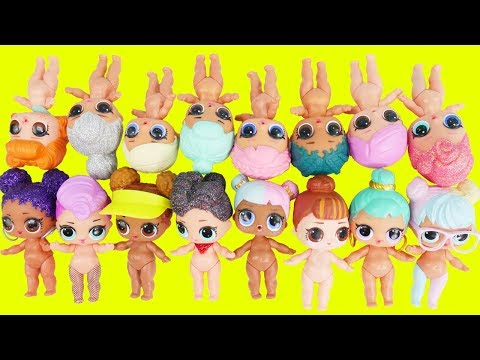 LOL Surprise Dolls Dress Up with Outfits Mix + Match