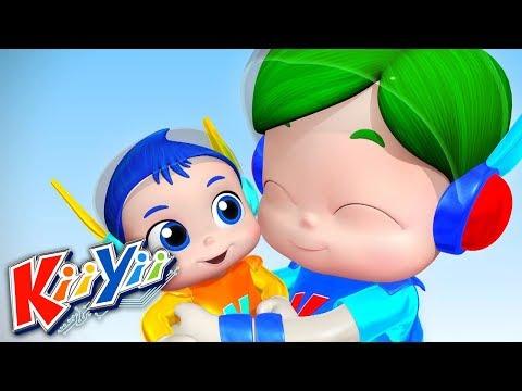 Nouveau bébé | Comptines pour bébé | Dessins animés | KiiYii en Français