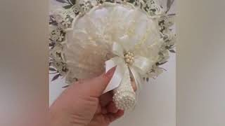 Букет невесты из пионовидных роз с конфетами.Автор работы Нарина Деви Даси.