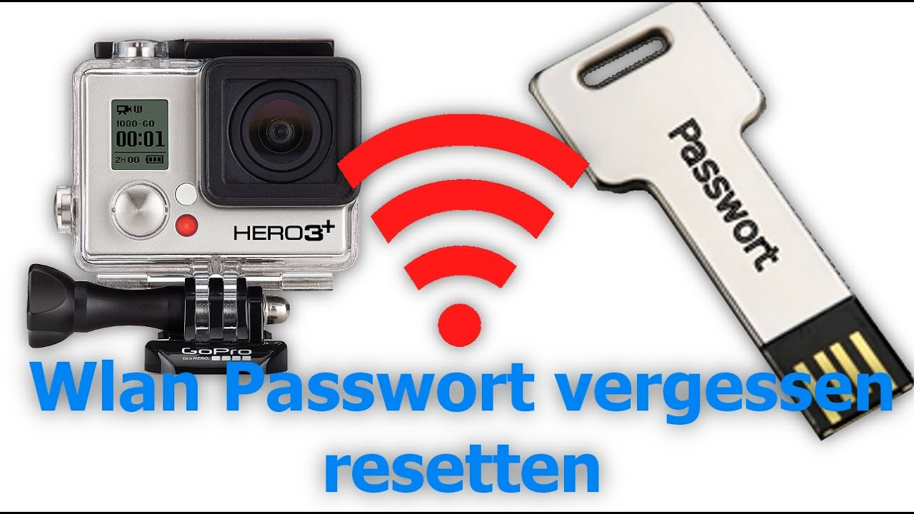 how to get gopro password