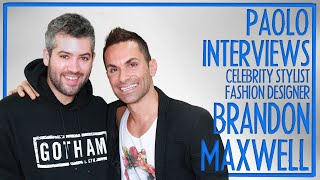 Brandon Maxwell on his NYFW debut and life with Lady Gaga!