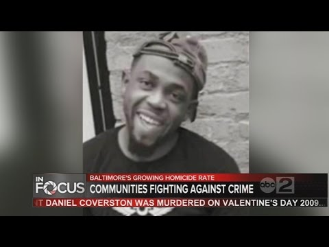 Single father's murder in Baltimore prompts community to fight for change