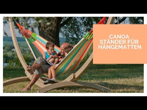 la-siesta-canoa---hängemattenständer-aus-holz