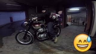 Мотоцикл мечты. Покупка. Мой личный Джонни Депп ( осторожно мат )