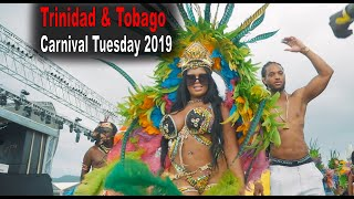 Trinidad & Tobago Carnival Tuesday Parade of Bands 2019 | Watch till end for All Stars Mas