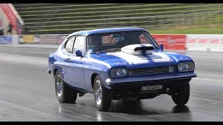 RO4RY AFFORDABLE RACING PARTS V8 FORD CAPRI 8.35 @ 167 MPH