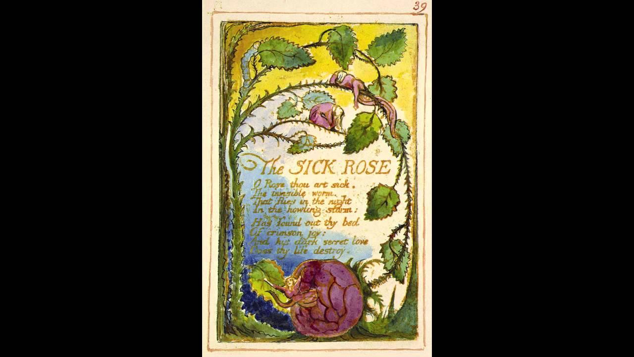 the sick rose poem