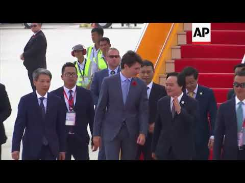 Trudeau arrives in Vietnam as APEC leaders gather