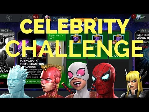 Chadwick & Tom's Champion Challenge - Marvel Contest Of Champions