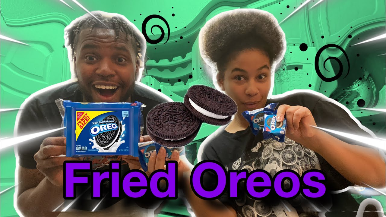 HOW TO MAKE FRIED OREOS *Look at our reaction lol*