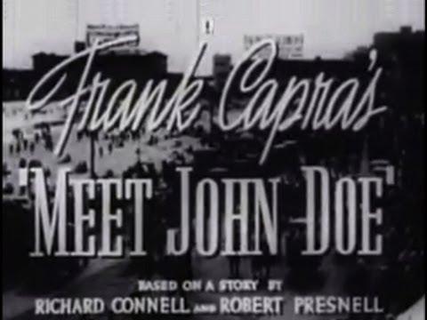 Meet John Doe (1941) [Comedy]