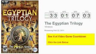 The Egyptian Trilogy PC Countdown