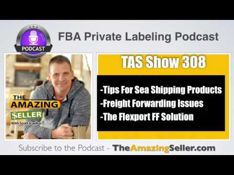 What Do I NEED to Know about Sea Shipping & Freight Forwarding? TAS 308: The Amazing Seller