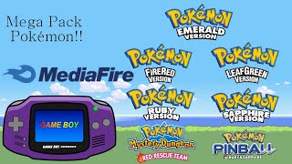 Super Pack de roms de Pokémon GBA por MediaFire!!