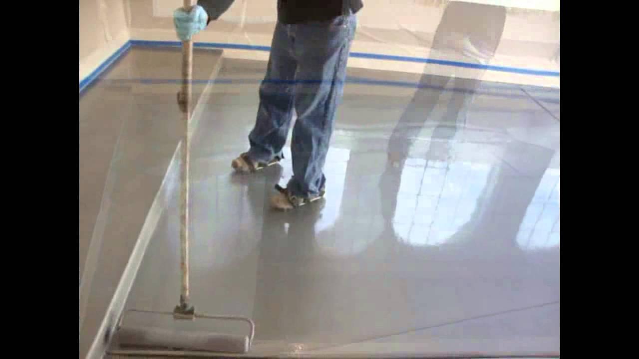Advacoat Metallic Polyaspartic Garage Floor Coating Youtube
