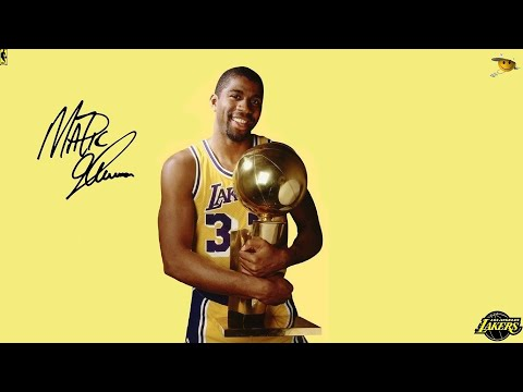 """Earvin """"Magic"""" Johnson (The Greatest Point Guard Ever to Play The Game) NBA Legends"""