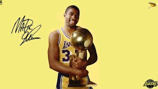 "Earvin ""Magic"" Johnson (The Best Point Guard Ever to Play The Game) NBA Legends"