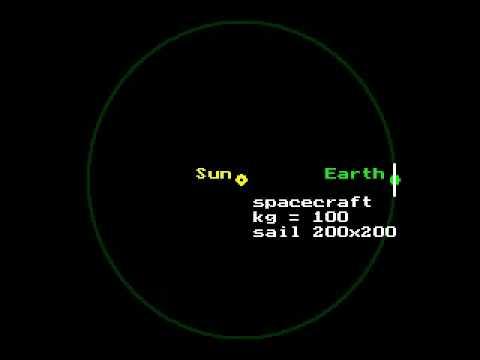 Solar Sail Simulations