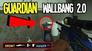 NEW GUARDIAN WALLBANG 2.0 - Epic & Funny CS:GO Moments #81