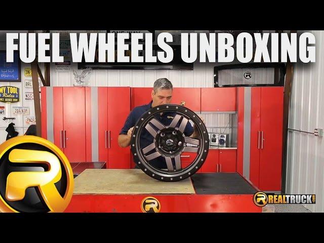 Fuel ANZA Wheels Unboxing