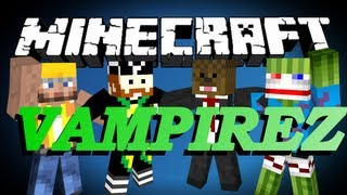 Repeat youtube video BRAND NEW Minecraft Vampirez Minigame w/ Bashur, CaveManFilms and CharlieBuilds