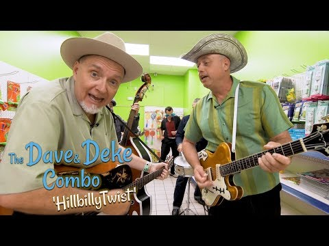 'Hillbilly Twist' The Dave & Deke Combo ROCKABILLY RAVE (sessions) BOPFLIX