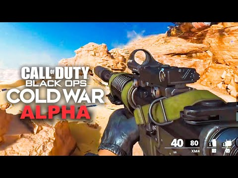 Black Ops Cold War Alpha Gameplay Full Multiplayer Gameplay Call Of Duty Cold War Youtube