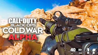 BLACK OPS COLD WAR ALPHA GAMEPLAY - FULL MULTIPLAYER GAMEPLAY! (Call of Duty Cold War)
