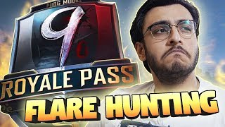 PUBG MOBILE LIVE: FLARE HUNTING FOR AWM 8X | SEASON 9 ROYAL PASS RANK PUSH | NEW UPDATE | RAWKNEE