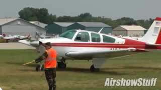 Runway 9-27 Arrivals and Departures - Friday Part 2 - EAA AirVenture Oshkosh 2014