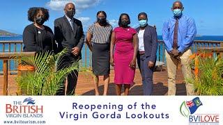 Reopening of the Virgin Gorda Lookouts