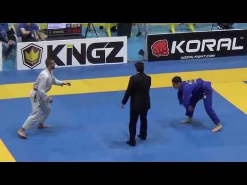 Cemil Karahan Vs Josh Valles - FINAL - IBJJF European Open 2017 - Purple Adult - Medium-Heavy