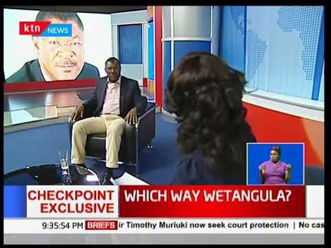 Sen.Moses Wetangula Exclusive interview on KTN