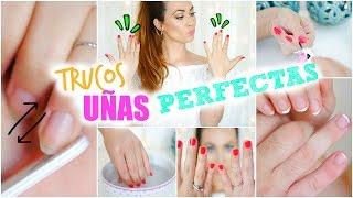 10 TIPS PARA LAS UÑAS. 10 NAIL HACKS | UÑAS PERFECTAS | Lizy P