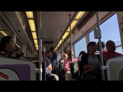 Homie on Los Angeles Metro Intimidating Other Passengers