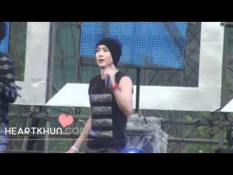 0812-camera rehearsal Without U nichkhun fancam