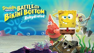 SpongeBob SquarePants: Battle for Bikini Bottom Rehydrated All Cutscenes (Game Movie) 1080p 60FPS