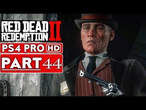 RED DEAD REDEMPTION 2 Gameplay Walkthrough Part 44 [1080p HD PS4 PRO] - No Commentary