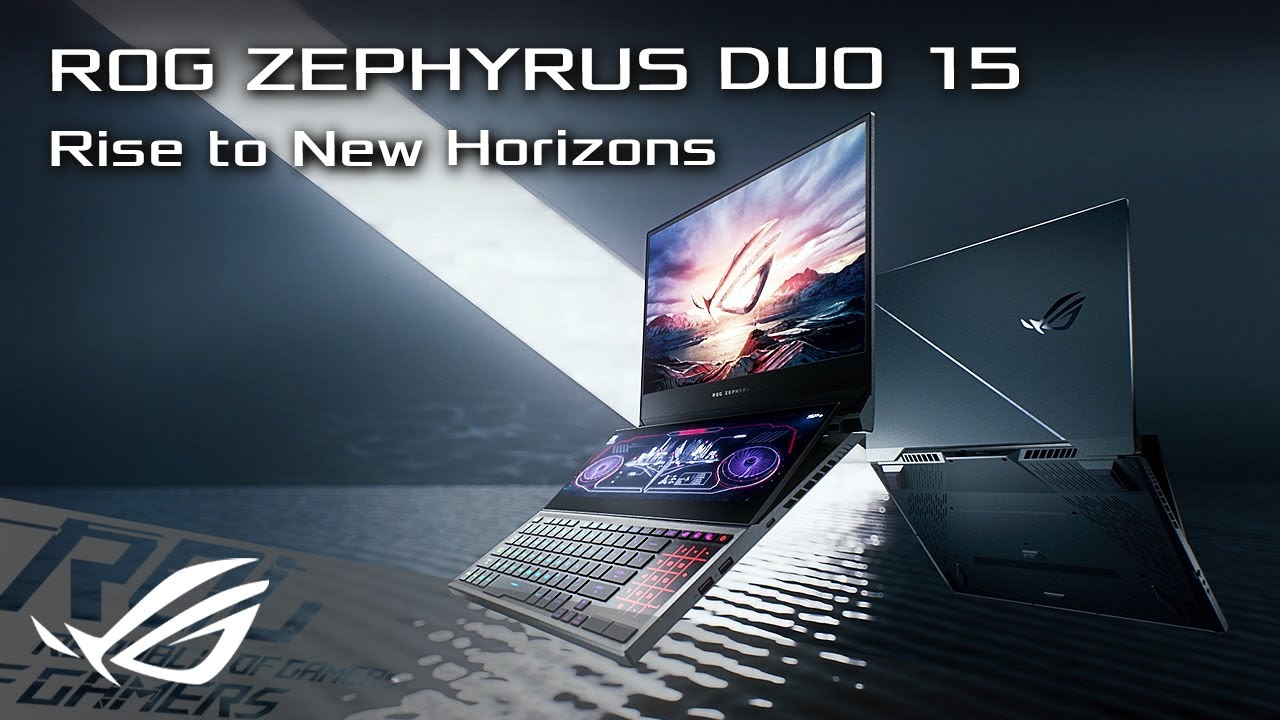 Rise to New Horizons - Zephyrus Duo 15 | ROG - YouTube