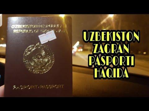 Yangi pasport haqida ma'lumot