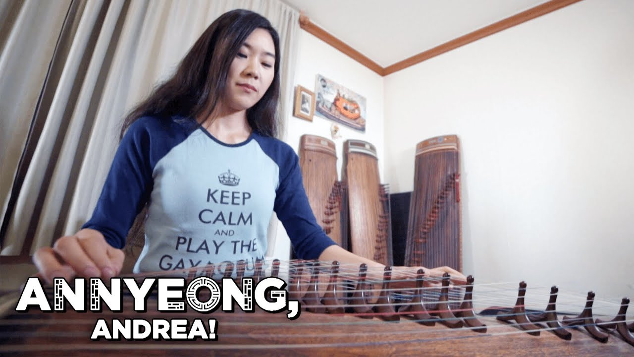 Luna Lee: The Gayageum Rocker | Annyeong, Andrea
