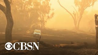 Hazardous conditions could bring more fires to Australia after temporary rain relief