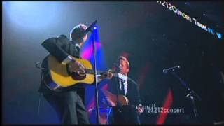 Chris Martin/Coldplay Live When I Ruled the World 121212concert