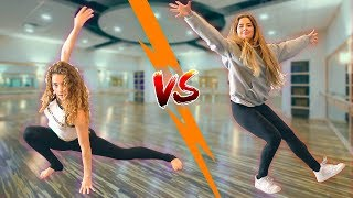 Sofie Dossi vs. Tessa Brooks DANCE BATTLE
