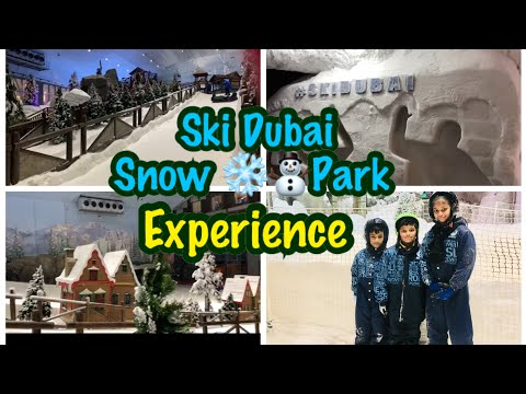 SKI DUBAI TRIP || Snow ❄️ Park in the  @ski dubai || Mall of the Emirates ||