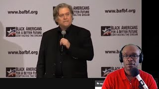 Steve Bannon Speaks At Black Republican Summit; Triggers Black and White Liberals (REACTION)