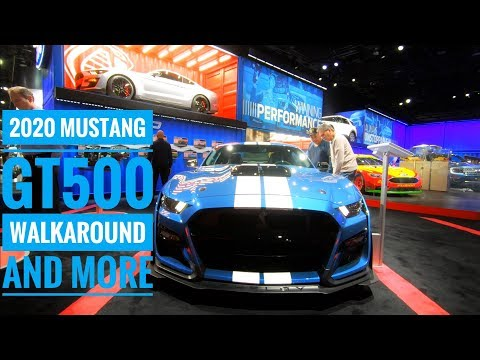 Mustang GT Walkaround & More | Live at Detroit Auto Show Industry Preview